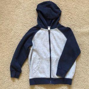 Boy's Zip Up Sweatshirt